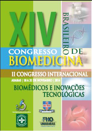 XIV CONGRESSO BRASILEIRO DE BIOMEDICINA