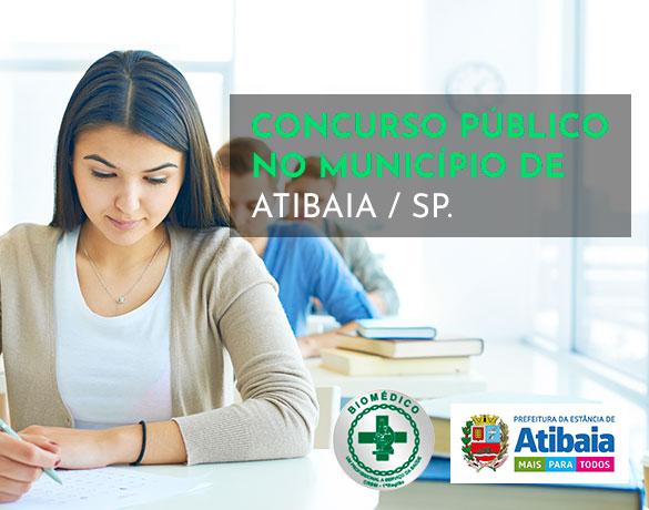 CONCURSO PÚBLICO NO MUNICÍPIO DE ATIBAIA / SP.