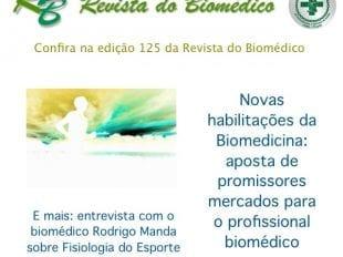 Edição nº 125 da Revista do Biomédico