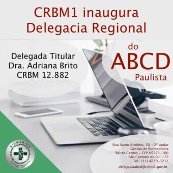 CRBM1 inaugura Delegacia Regional do ABCD