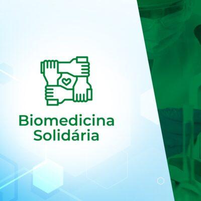 """Ação """"Biomedicina Solidária"""" é lançada e conta com a participação da categoria e pontos de coletas em todo o país"""