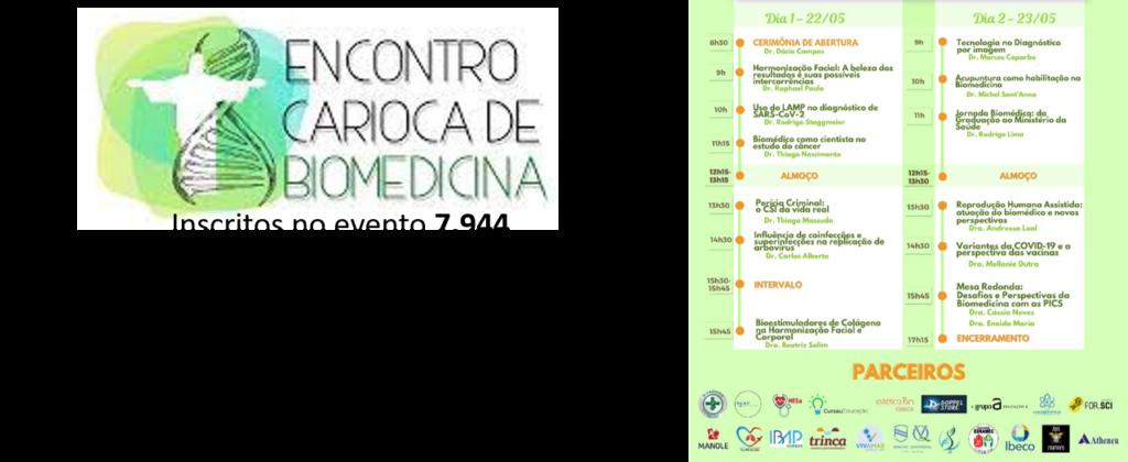V ENCONTRO CARIOCA DE BIOMEDICINA 2021 – Palavra do Presidente